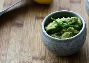 Ærte avocado hummus